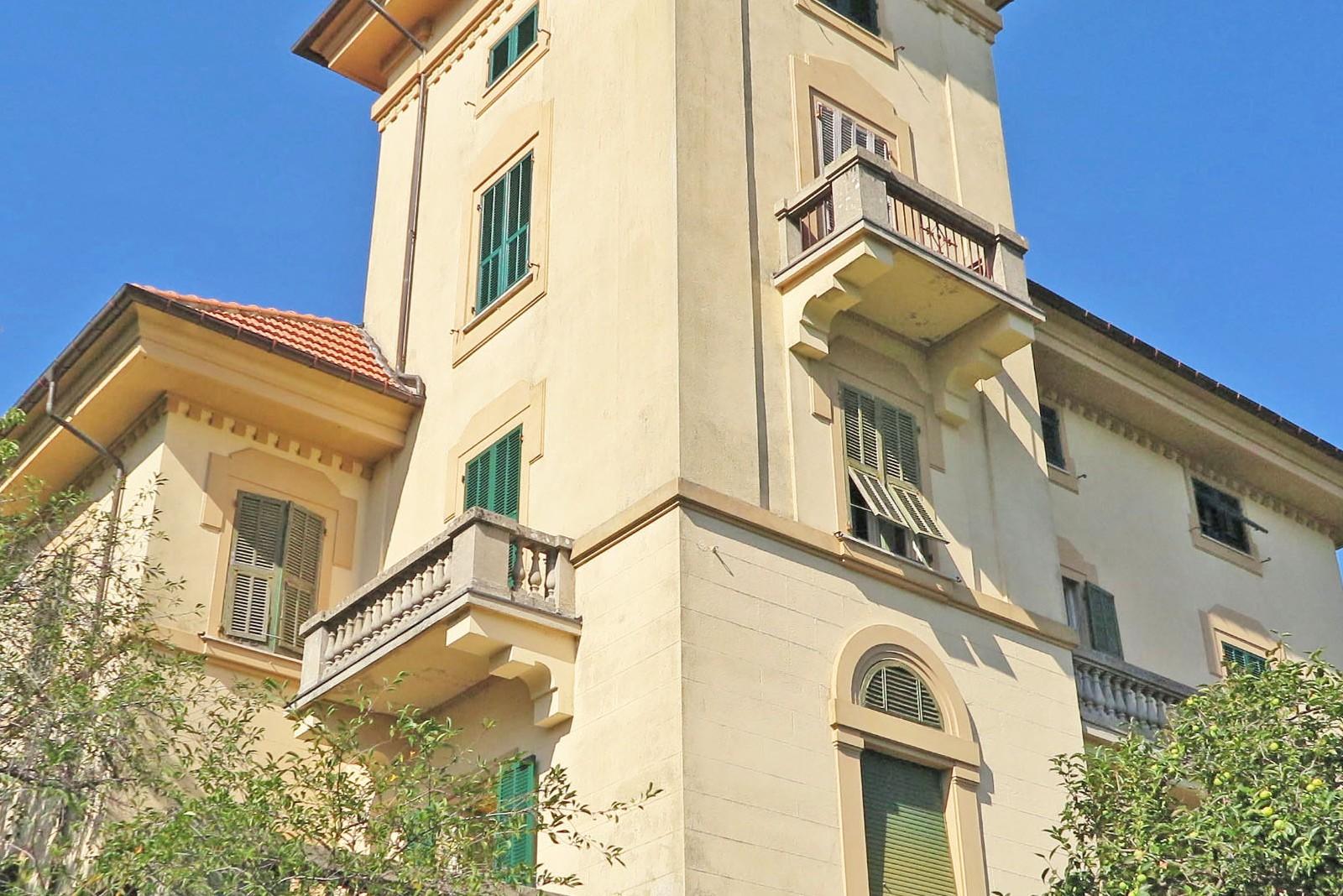 Villa liberty primi novecento